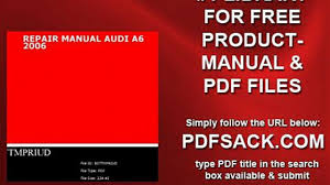 repair manual audi a6 2006 video dailymotion