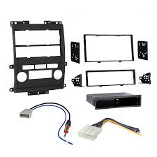 nissan altima 2005 double din amazon com nissan frontier 2009 2013 double din dash kit with