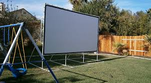 How To Make A Backyard Movie Screen by 28 Backyard Theater Screen Diy Backyard Theater Screen