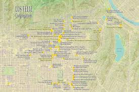 River Map Of Usa by Los Feliz Interactive Map Of Religious Congregations Center For