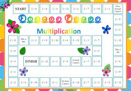 Multiplication Table Games by Bayside Math Teacher October 2012