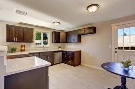 dark kitchen cabinets with light floors image result for light laminate flooring with dark cabinets