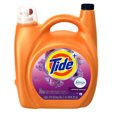 tide 138 oz spring and renewal scent liquid laundry detergent