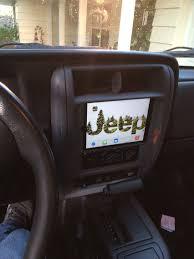 jeep pathkiller ipad install in jeep xj dash https www pinterest com dapoirier