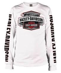 harley davidson men u0027s genuine oil bar u0026 shield long sleeve shirt