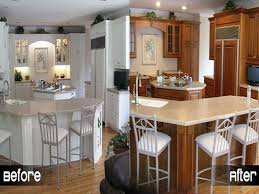 remodeling painting old kitchen cabinets before and after u2014 decor