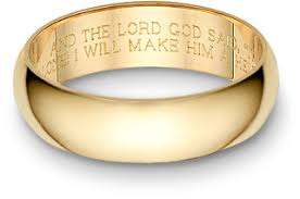 engraving inside wedding band bible verses engraved on the inside of wedding bands awesome and