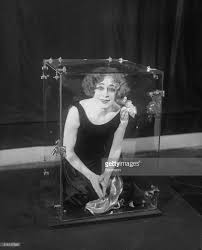 beatrice houdini demonstrating an illusion pictures getty images