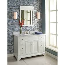 Bathroom Vanities Free Shipping by Fairmont Designs 48 Inch Framingham Vanity Polar White Tools