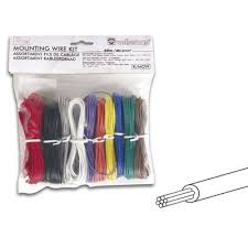 k mow velleman 24 awg 10 color stranded mounting wire kit