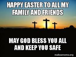 Religious Easter Memes - happy easter memes cards images pics