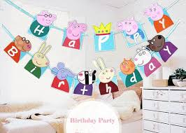 Peppa Pig Birthday Decorations The 25 Best Peppa Pig Happy Birthday Ideas On Pinterest Peppa