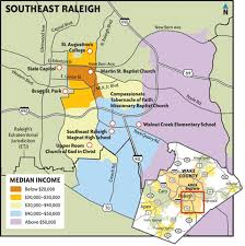 Gang Map The Other Side Of Town Southeast Raleigh U0027s Problems And Promise