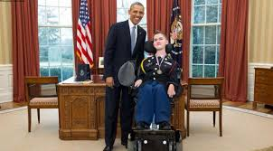 President Obama In The Oval Office Student With Disabilities Offers Patriotic Proposal To President