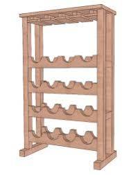 free wine rack plans lovetoknow