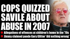Jimmy Savile Meme - police questioned jimmy savile over abuse in 2007 the sun