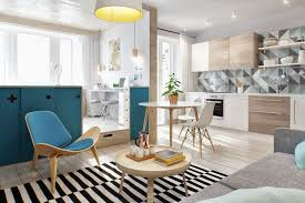 tantalizing small studio apartment scandinavian designs with