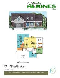 Country Club Floor Plans C A Jones Inc Welcome To A New Experience In Home Building