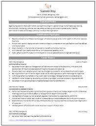resume format administration manager job profile description for resume professional curriculum vitae resume template for all job