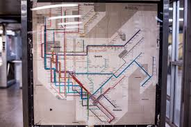 Mta Map Massimo Vignelli Nyc Transit Map Uncovered In A Midtown Subway