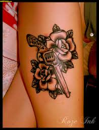 tattoos guns and roses tattoo collection