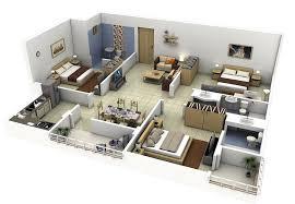 4bhk house 3d 4bhk single floor house plan pictures condointeriordesign com
