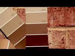 sherwin williams paint sample colors pink brick exterior youtube