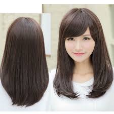 medium length haircut for curly hair korean shoulder length haircut haircuts black
