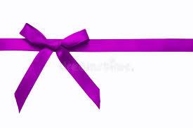 purple satin ribbon purple satin bow on a satin ribbon stock photo image of