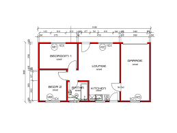 Two Bedroom House Floor Plans Small House Plans In South Africa Two Bedroomed Homes Zone