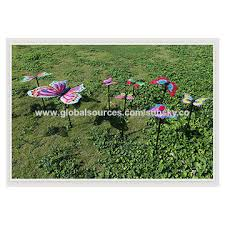 china solar powered electric rotating butterfly hummingbird