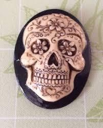 where to buy sugar skull molds baby skeleton cameo 3d silicone push mold mod pod melt resin