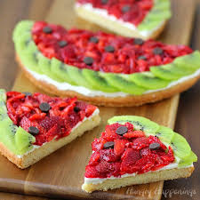 fruit treats watermelon fruit pizza food craft ideas