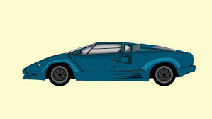 yellow lamborghini countach lamborghini countach illustration by safwan051432 on deviantart