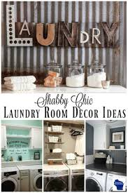 Decorating Ideas For Laundry Rooms And Easy Diy Country Chic Laundry Room Decor Ideas