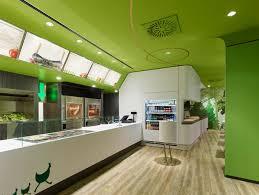 Httpwwwinmagzcom Uniquely Green Kitchen Design In Restaurant - Fast food interior design ideas