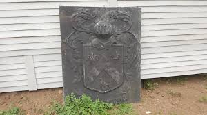 Garden Wall Plaque by Cast Iron Wall Decor Plaque With Coat Of Arms Rustic Rose
