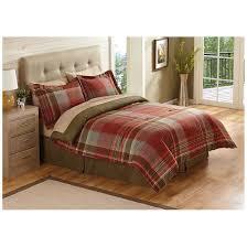 Plaid Bed Set Bedding Interesting Castlecreek Montana Plaid Bed Set 667186