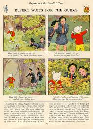 cloud 109 rupert bear weird compelling childhhod icon