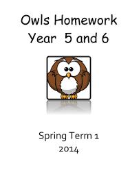 year 4 5 and 6 homework booklets by eckweek22 teaching