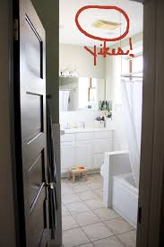 builder grade our master bathroom from builder grade to beautiful