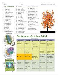cells unit study guides biology h116
