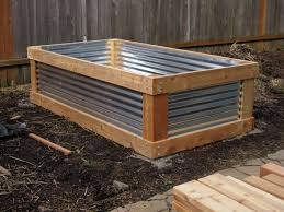 Galvanized Containers For Gardening Aristata Land Arts Cedar U0026 Metal Raised Bed Project