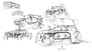 land rover drawing land rover 2025 defender survior by xiaodi yang motivezine