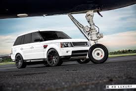 white range rover sport milan matte black rims by xo luxury on white range rover sport