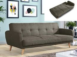canapes tissu canape tissu convertible 3 places canapac maelo en taupe tissus