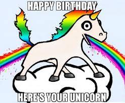 Unicorn Birthday Meme - unicorn birthday memes wishesgreeting