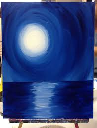 blue and white painting painting with a twist the simple things