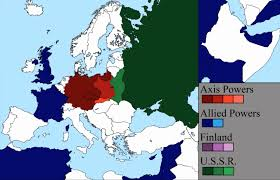 World War 1 Map Of Europe Watch World War Ii Rage Across Europe In A 7 Minute Time Lapse