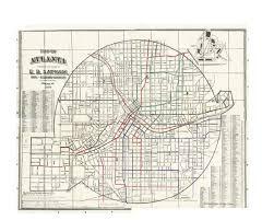Georgia State University Map by The Development And Consolidation Of Atlanta U0027s Street Railways
